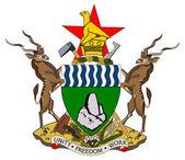 Zimbabwe coat of arms — Stock Photo