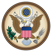 United States Great Seal — Stock fotografie