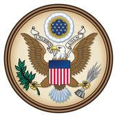 états-unis grand sceau — Photo