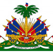 Haiti Coat of Arms — Stock Photo
