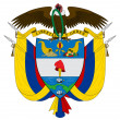 Colombia Coat of Arms - Foto Stock