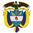 Colombia Coat of Arms - Stockfoto