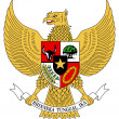Indonesia Coat Arms - Foto Stock