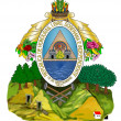 Honduras Coat Arms - Foto Stock