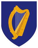 爱尔兰徽章 — 图库照片