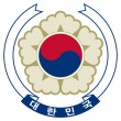 South Korea Coat of Arms — Foto Stock