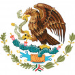 Mexico Coat of Arms — Stock Photo