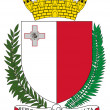 Malta Coat of Arms — 图库照片