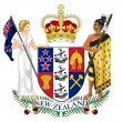 New Zealand Coat of Arms — Stock Photo