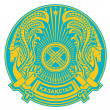 Stock Photo: KazakhstCoat of Arms