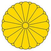 Japon i̇mparatorluk mührünü — Stok fotoğraf