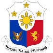 Philippines Coat of Arms — Stockfoto