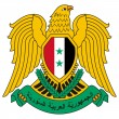 Syria Coat of Arms — Foto de Stock