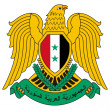 Syria Coat of Arms — Stockfoto