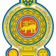 Sri Lanka coat of Arms — Stock Photo
