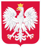 Poland Coat of Arms — Stock Photo
