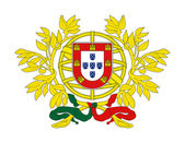 Portugal Coat of Arms — Stock Photo