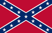 Confederate Flag — Stock Photo