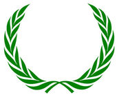 Laurel wreath — Stockfoto