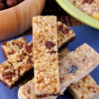 Cereal bars — Stock Photo