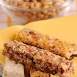 Cereal bars with decoration — Stock Photo #2748771