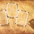 Royalty-Free Stock Photo: Grunge paper and photo frameworks