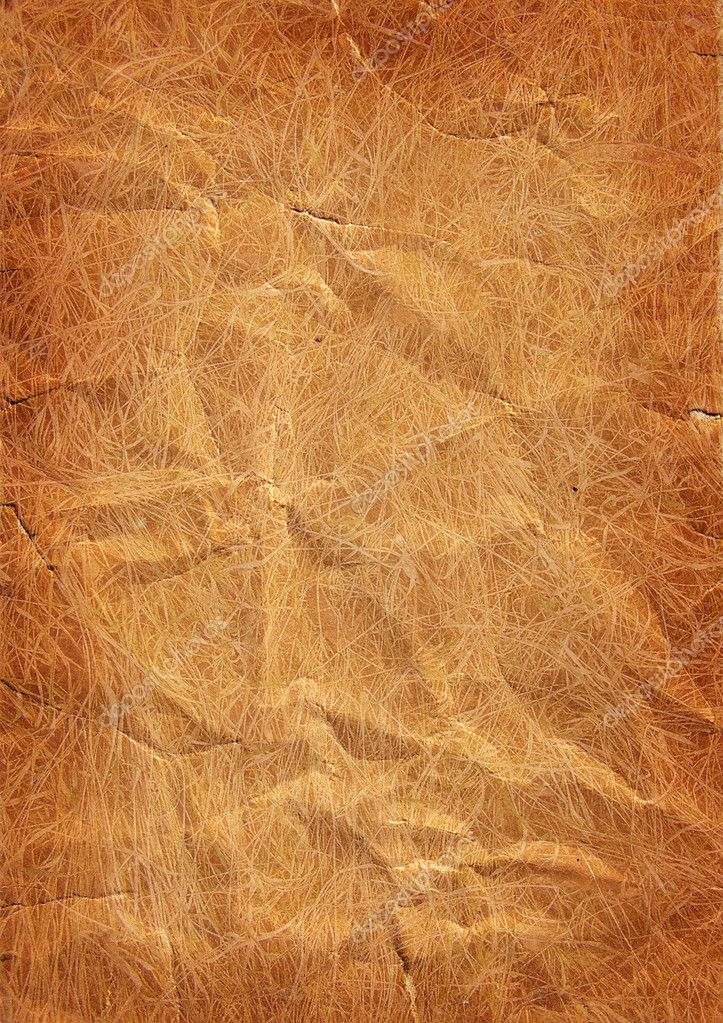 Crumpled paper, may be used as background  Stock Photo #2936551