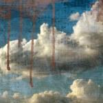 Retro image of cloudy sky. — Stock Photo #2955743
