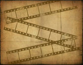 Background image with filmstrip — Stock Photo