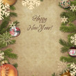 Branches of a Christmas tree — Stock Photo #2964077