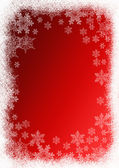 Christmas red background — Stock Photo