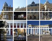 Arquitectura de la ciudad. odessa, ucrania — Foto de Stock