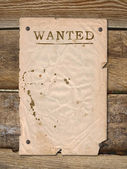 Poster Wanted — Stockfoto