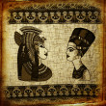 Old egyptian papyrus — Stock Photo