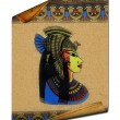 Ancient egyptian parchment — Stock Photo #3099003