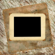 Vintage photo frame — Stockfoto