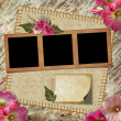 Vintage Photo Album. - Stock Photo