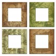 Stock Photo: Isolated art frame