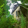 Stock Photo: Dilapidated house
