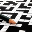 Crossword puzzle — Stockfoto #2747542