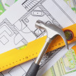 Architectural drawing — Stock Photo #3040970