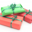 Royalty-Free Stock Photo: Red and Green Gifts