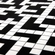 Crossword puzzle - Foto de Stock