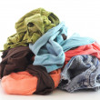 Dirty clothing — Stock Photo