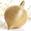 Stock Photo: Golden balls
