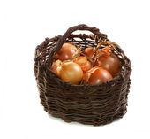 Old basket — Stock Photo