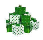 堆的礼物 — 图库照片