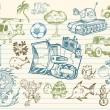 Mega Doodle Sketch Vector Set — Stock Vector #2715938
