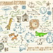 Royalty-Free Stock Vector Image: Mega Sketch Doodle Vector Set