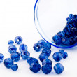 Royalty-Free Stock Photo: Blue beads